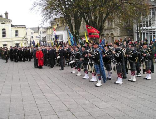 Armistace Day Falmouth 13/11/11