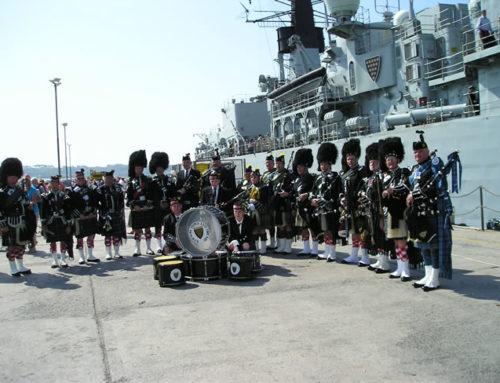 HMS Cornwall 26/4/11