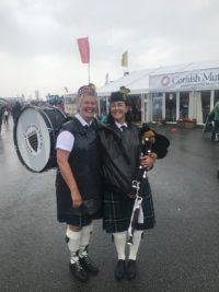 Kernow Pipes & Drums at the Royal Cornwall Show 2018
