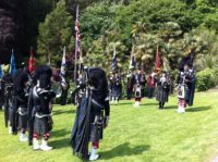 Kernow Pipes & Drums at Trebah Gardens 2018