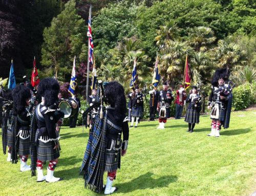 Trebah Gardens D-day Landings commemoration