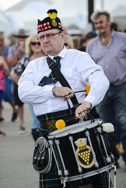 Kernow Pipes & Drums - Image by http://www.celtcreative.co.uk