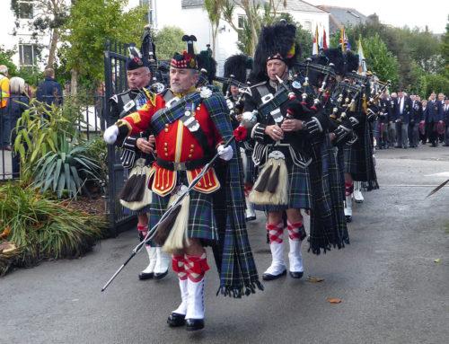 Falmouth Remembrance Parade 2018