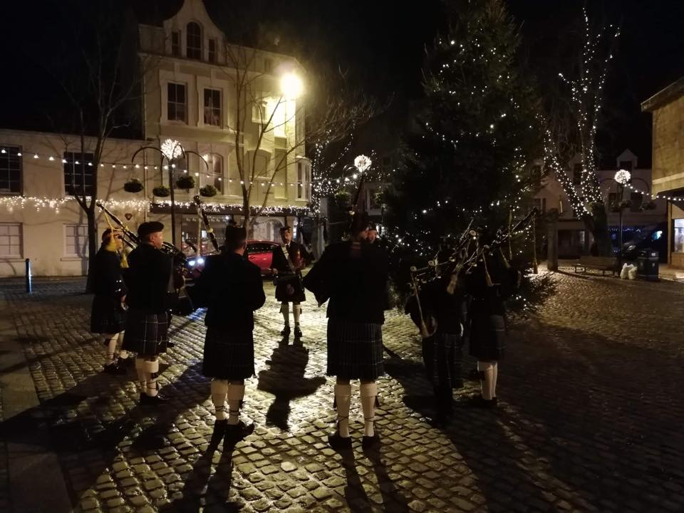 kernow pipes and drums christmas 2018 at truro cathedral