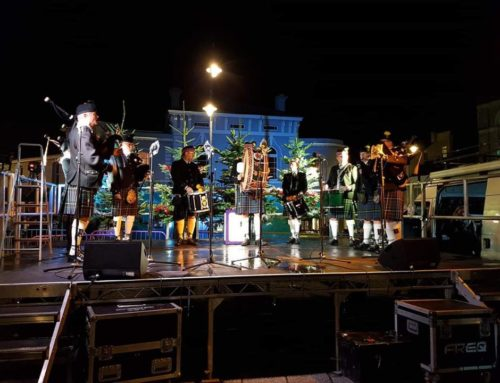 Falmouth Christmas Lights Switch on 2018