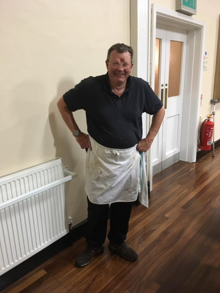 Chef Keith at Kernow band dinner