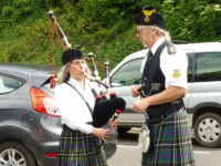 Kernow Pipes and Drums at Polperro Music Festival 2019