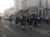Kernow Pipes and Drums at Wadebridge Carnival 2019