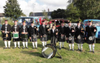 kernow pipes and drums at st coulomb major carnival 2019