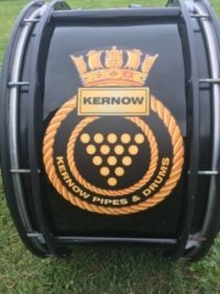 Kernow Pipes and Drums at St Merryn carnival 2019