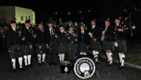 kernow pipes and drums at launceston carnival 2019