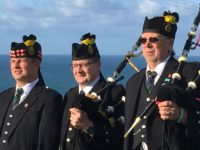 Kernow Pipes and Drums at Port Isaac carnival 2019