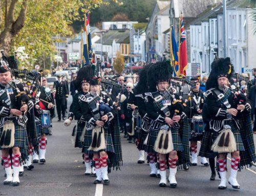 Falmouth & Truro Remembrance Parades 10th November 2019